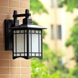 Америки старинные деревни черный открытый настенный светильник из стекла Vintage водонепроницаемый