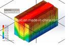 Il nero anodizzato raschia il dissipatore di calore per l'alimentazione elettrica
