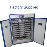 La Chine a exporté l'incubateur automatique d'oeufs de poussin avec le prix de plaque en acier
