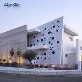 Il metallo decorativo di alluminio dei comitati di parete riveste lo schermo di pannelli di arte