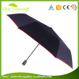Automático abrir cerca la publicidad del paraguas plegable de la lluvia de Sun para la promoción