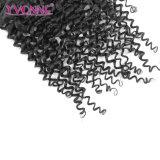 Зажим верхнего качества волос малайзийский курчавый в выдвижении волос