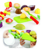 Sneed de Gelukkige Besnoeiing van vruchten en van Groenten het Leren Speelgoed