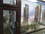 Elevados direitos anti-UV Perfis de laminação de madeira para a porta e janela