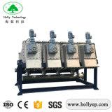 手回し締め機が付いている石油フィルターの出版物機械沈積物の排水機械