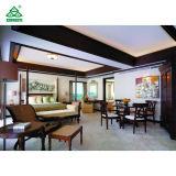熱帯別荘様式のホテルのインドネシアの一義的な木の居間の家具
