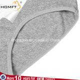 Il cotone all'ingrosso di colore solido delle donne imparte le direttive alla signora classica Panty Underwear delle mutandine di Bowknot MID- della vita