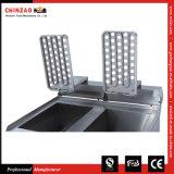 friteuses profondes commerciales de l'acier inoxydable 34L