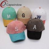 Faux Suede Baseball Hat/Tapa con bordado en 3D.