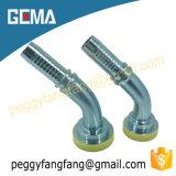 Bride SAE 87341 3000 Psi raccord de flexible hydraulique en acier inoxydable