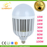 Aluminium Plastics Raw Material를 가진 낮은 Price High Power White Light LED Bulb Lamp