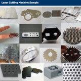 Laser-Metallblatt-Ausschnitt-Maschine der Faser-3kw mit schützendem Schild