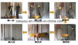Rappresentazione dell'interno automatica della parete del blocchetto del mattone del cemento che intonaca macchina