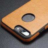 Geschäfts-lederner Telefon-Kasten-Deckel für iPhone X