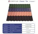 Costomized überzogene Metalldach-Blatt-Steinfliesen färben
