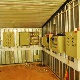 Cage de poulet et de couche dans la ferme de volaille