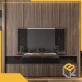 Eichen-Holz-Korn-dekorative Melamin-Spanplatte HPL für Furniture70g