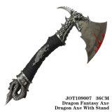 ドラゴンの金属のナイフのクラフト表の装飾の誕生日プレゼント36cm
