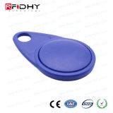 O melhor ABS sem contato de venda RFID Keyfob para o controle de acesso
