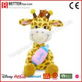 Euro n-71 de Leuke Gevulde Vervaardiging van China van het Stuk speelgoed van de Giraf van Dieren Zachte