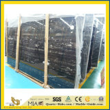 부엌을%s 자연적인 Polished 까만 은 용 돌 대리석 또는 목욕탕 또는 벽 또는 마루 또는 단계 또는 도와 또는 클래딩