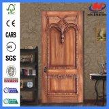Porte en bois solide de matériel à la maison de luxe d'artisan (JHK-017CS)