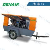Draagbare Diesel Roterende Compressor van de Lucht van de Schroef 145 Staaf Psi/10