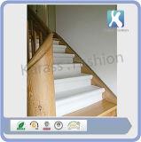Escalier adhésif blanc revêtu de PE Malervlies