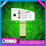Interruptor 2017 de membrana de encargo del teclado de la pantalla táctil de la fábrica de Shenzhen