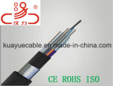 Câble de GYFTY53 Aire Libre Cable De Fibra Optical Kabel/Foc/Data/câble de transmission
