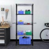 Шкаф Shelving хранения гаража регулируемой черной светлой обязанности уровня OEM 5 стальной