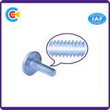 O aço de carbono de DIN/ANSI/BS/JIS/cabeça redonda não padronizada Stainless-Steel parafusa os parafusos plásticos lisos da asseguração