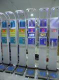 스크린을 광고하는 LCD를 가진 Dhm-15 체중 고도 건강 가늠자 인간적인 의학 가늠자