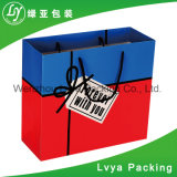Diseño personalizado de compras al por mayor impresas bolsa de papel