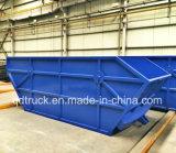 4X2 HOWO 10m3, rullo del braccio 12m3 fuori dal camion di immondizia del caricatore di salto del collettore di rifiuti