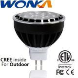 옥외 점화를 위한 크리 사람 LED MR16 6W Dimmable 스포트라이트 전구