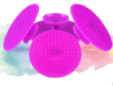 Silikon-Verfassungs-Pinsel-Reinigungsmittel/Silikon-Pinsel-Reinigung/Ausspülen von Auflage-Kreis-Form