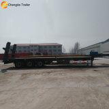 Welle 3 60 Tonnen-niedriges Bett-Flachbettschlußteil für Verkauf