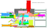 Autopartes de molde de moldeado a presión de alta presión