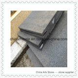 Tegel van de Vloer van Ourtdoor van de Steen van het graniet de Marmeren G654 (de zwarte van de Sesam)
