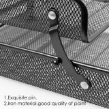 Продажи с возможностью горячей замены 2-слоев металлической сетки офис организатора