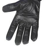 Черная перчатка для полиций, с кожей козочки и Breathable тканью
