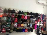 Комплект шлема & шарфа & перчатки способа Китая оптовой связанный девушкой