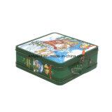 Caja de estaño metálico de Navidad para el envasado de los zapatos