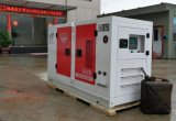 Monophasé diesel à faible bruit 15kw de Genset