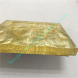 Meister-Goldfarben-Gewebe-lamelliertes Glas