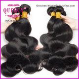 La qualité d'usine de cheveu de pente d'Aaaaaaaa a garanti les cheveux humains d'onde de corps de Remy de Vierge d'être humain de 100%