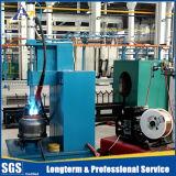 LPGのガス容器の生産ライン