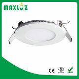 중국 공급자 매우 호리호리한 둥근 중단된 18W LED 위원회 빛