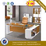 Tabella esecutiva dell'ufficio dello scrittorio del metallo del banco di legno d'acciaio del piedino (UL-MFC580)